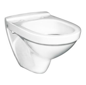 Gustavsberg 5530 Nautic vægskål hvid porcelæn uden sæde - 613031000. Privatgrossisten.dk