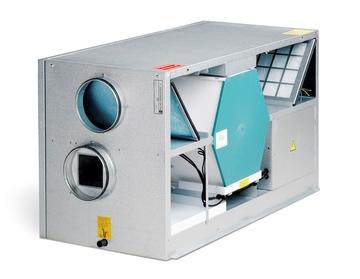 Af modish Nilan Comfort 300 EC Ventilationsaggregat med indbygget fugtmåler AU38