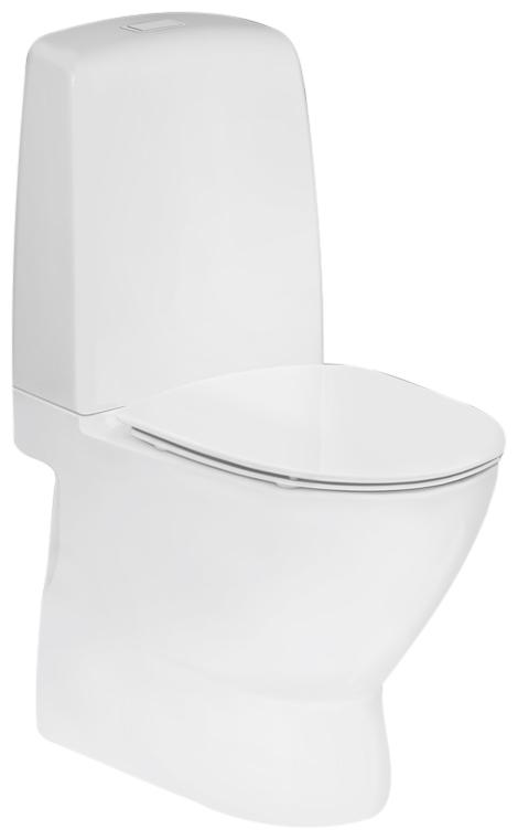 Fremragende IFØ Spira Sign Art toilet til limning uden skyllekant med IFØ HF39