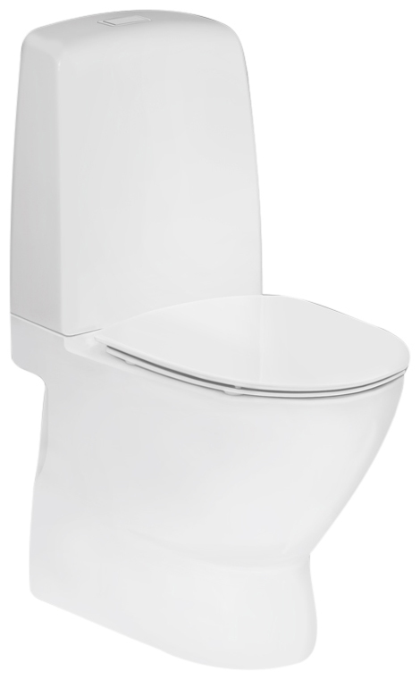 Toilet med ekstra højde