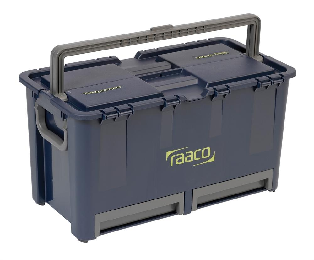 Raaco værktøjskasse Compact 47 296x292x540 mm - 861710239. Privatgrossisten.dk
